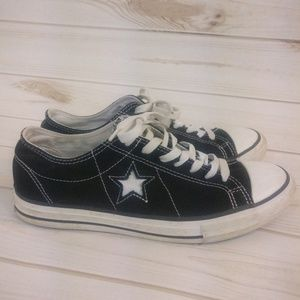 Converse Shoes - Converse One Star Black & White Men's Sneakers 8.5